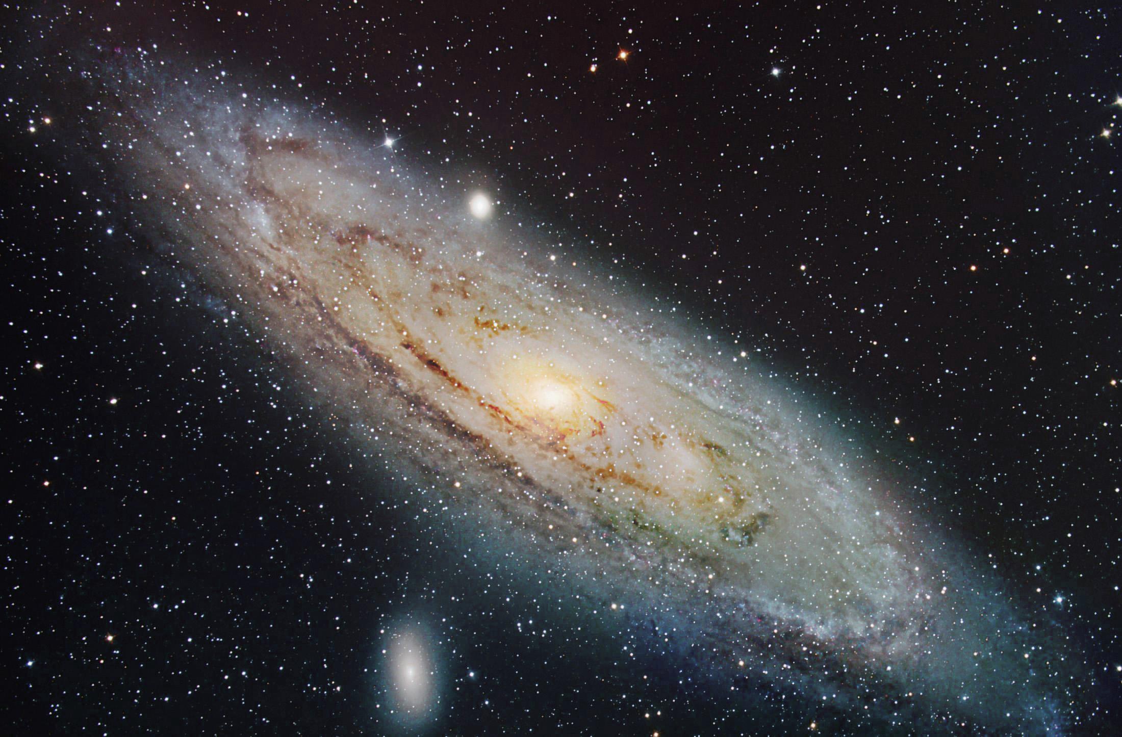 Milchstraße Andromeda